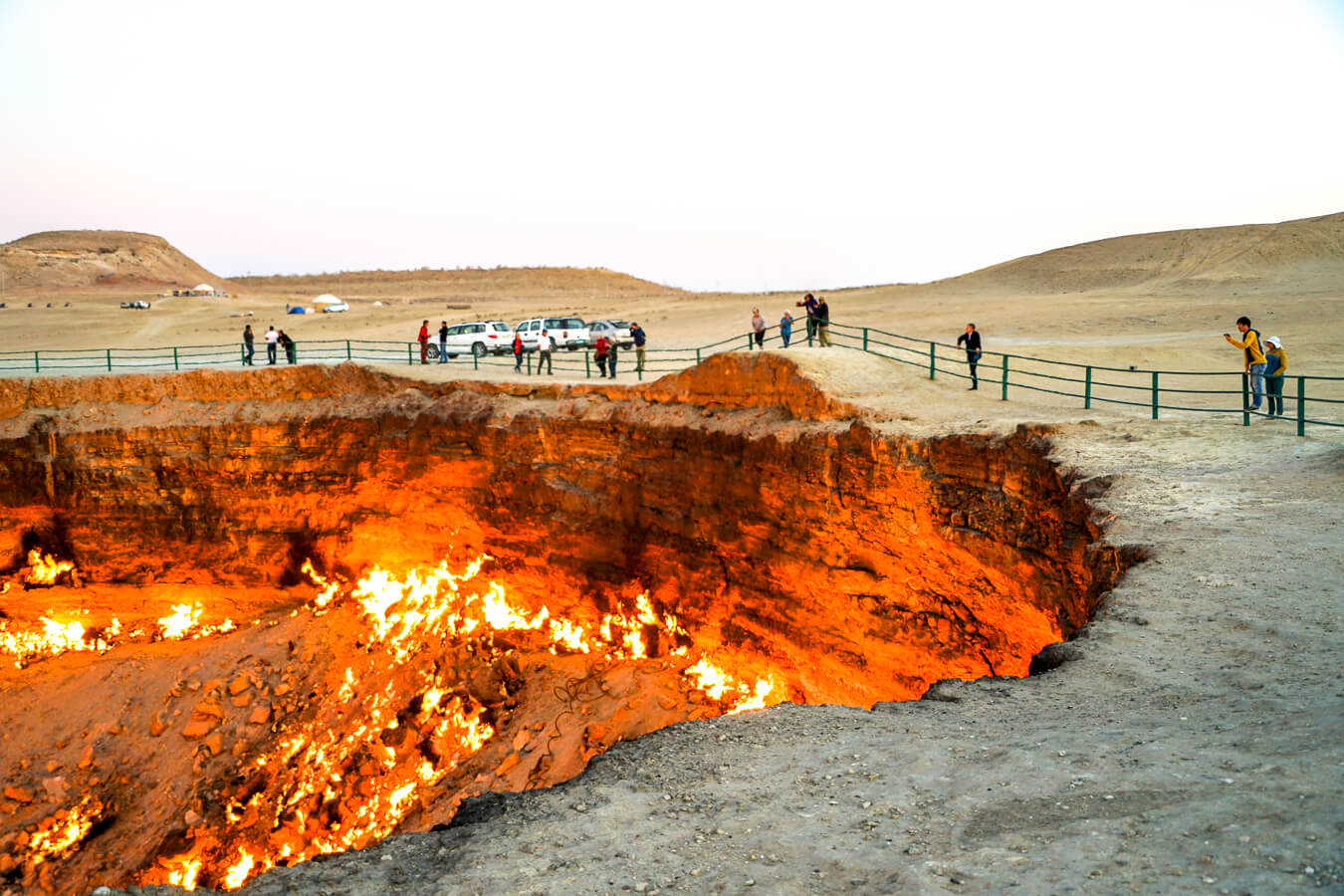 Marvel at the Darvaza Gas Crater