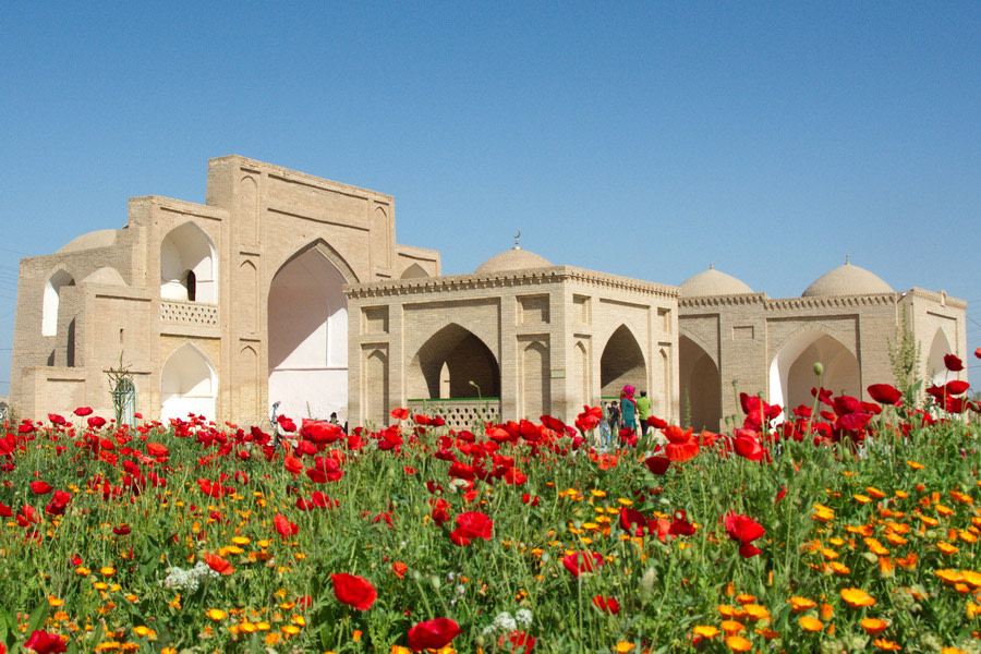 Admire the Beautiful Architecture of Mari