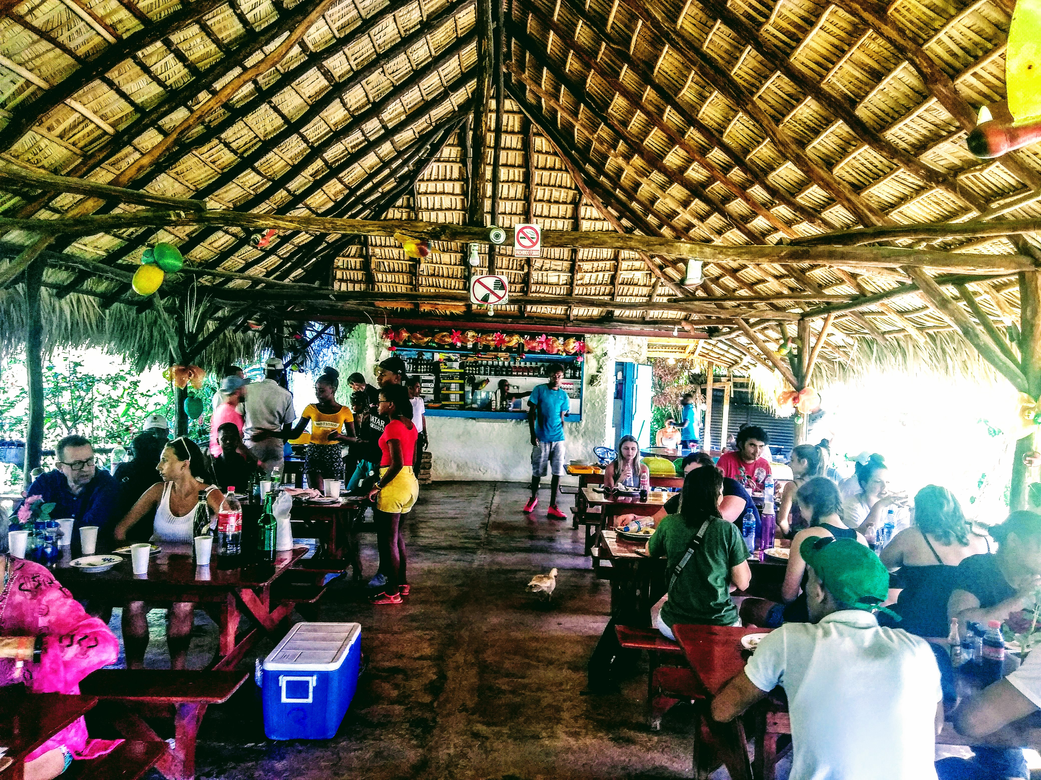 Ranch for lunch in Santo Domingo