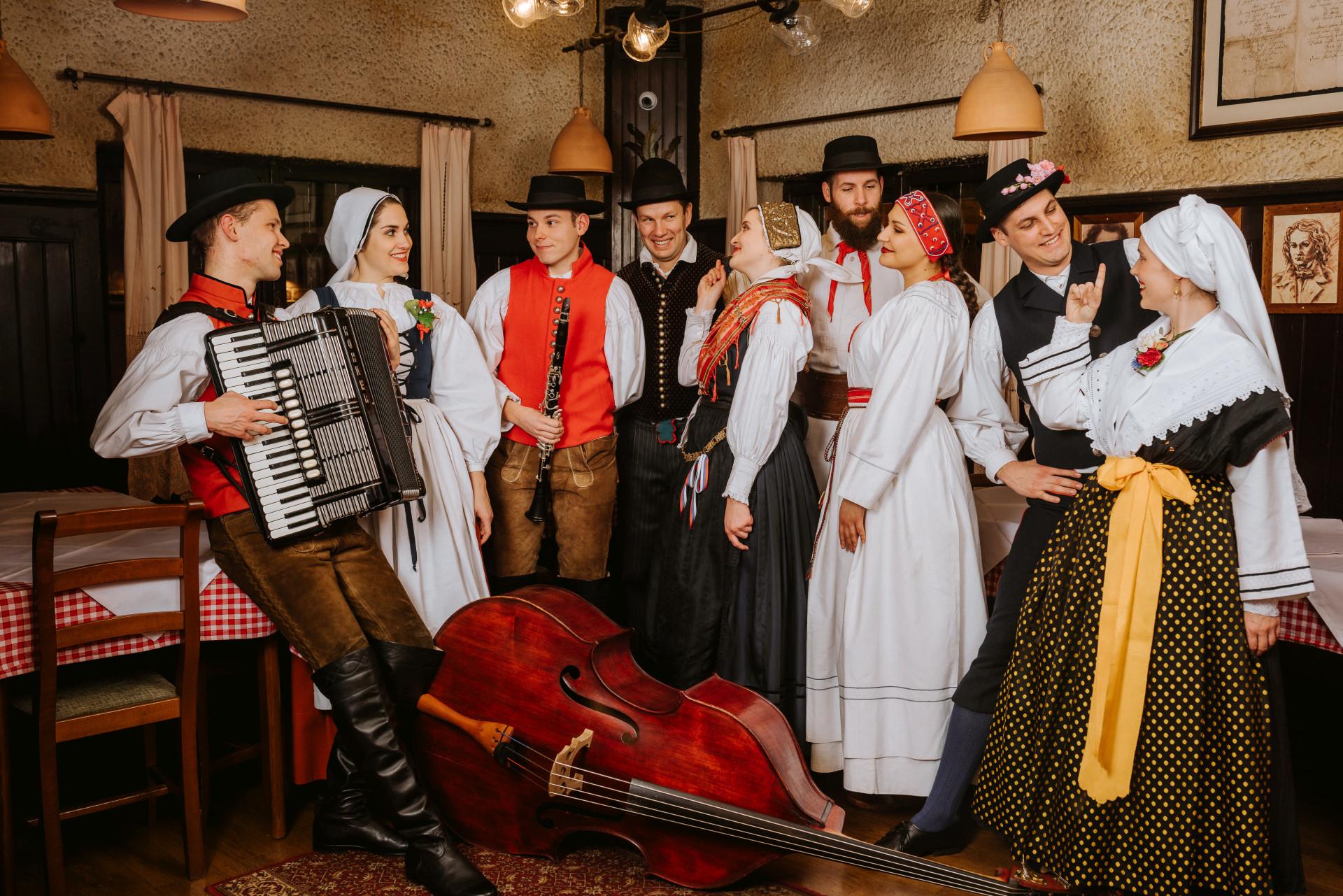 Traditional Folklore Show Ljubljana Slovenia
