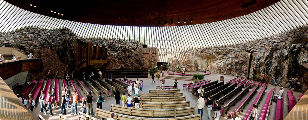 Visit the Rock Church at Helsinki