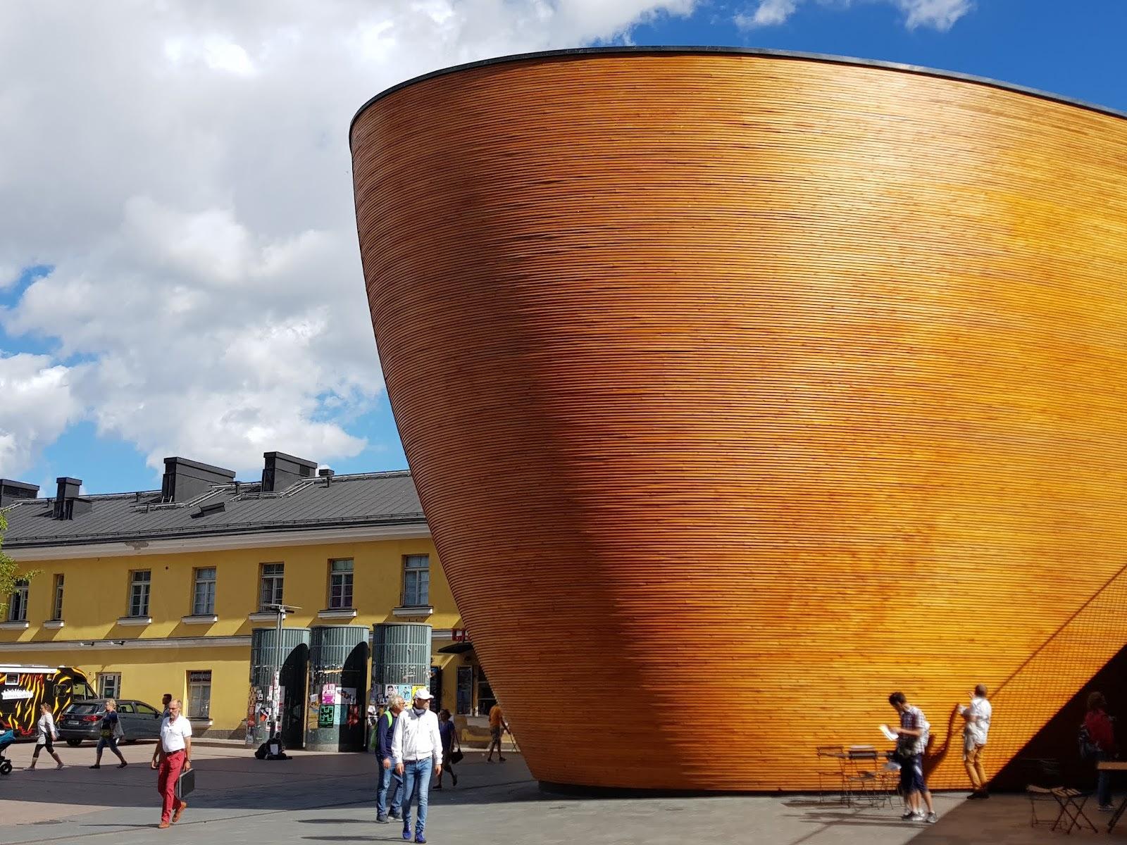 Chapel of Silence in Helsinki