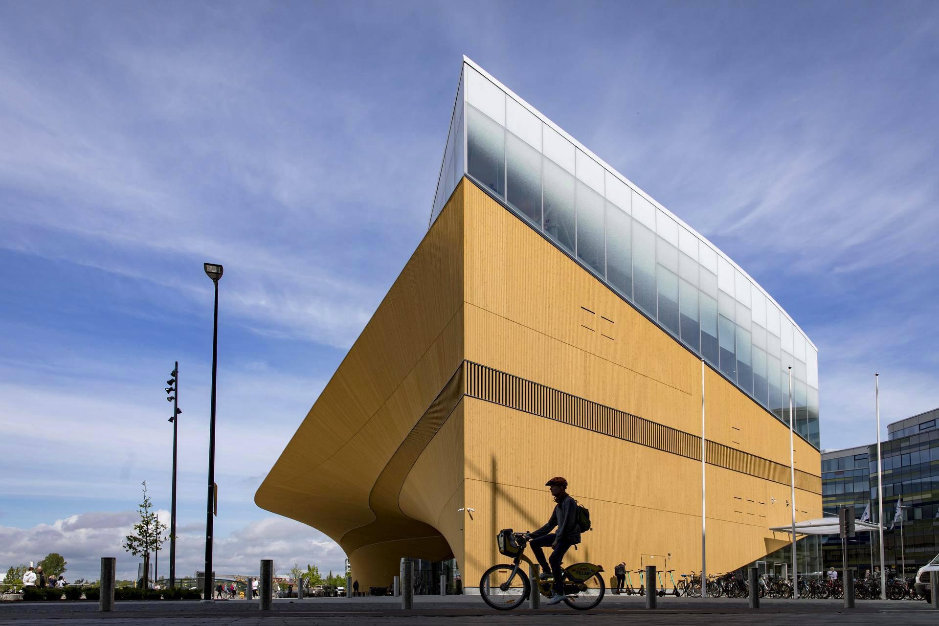 Visit Oodi Central Library in Helsinki