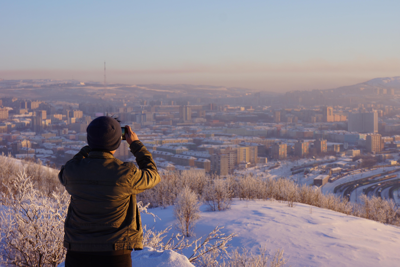 View of Murmansk