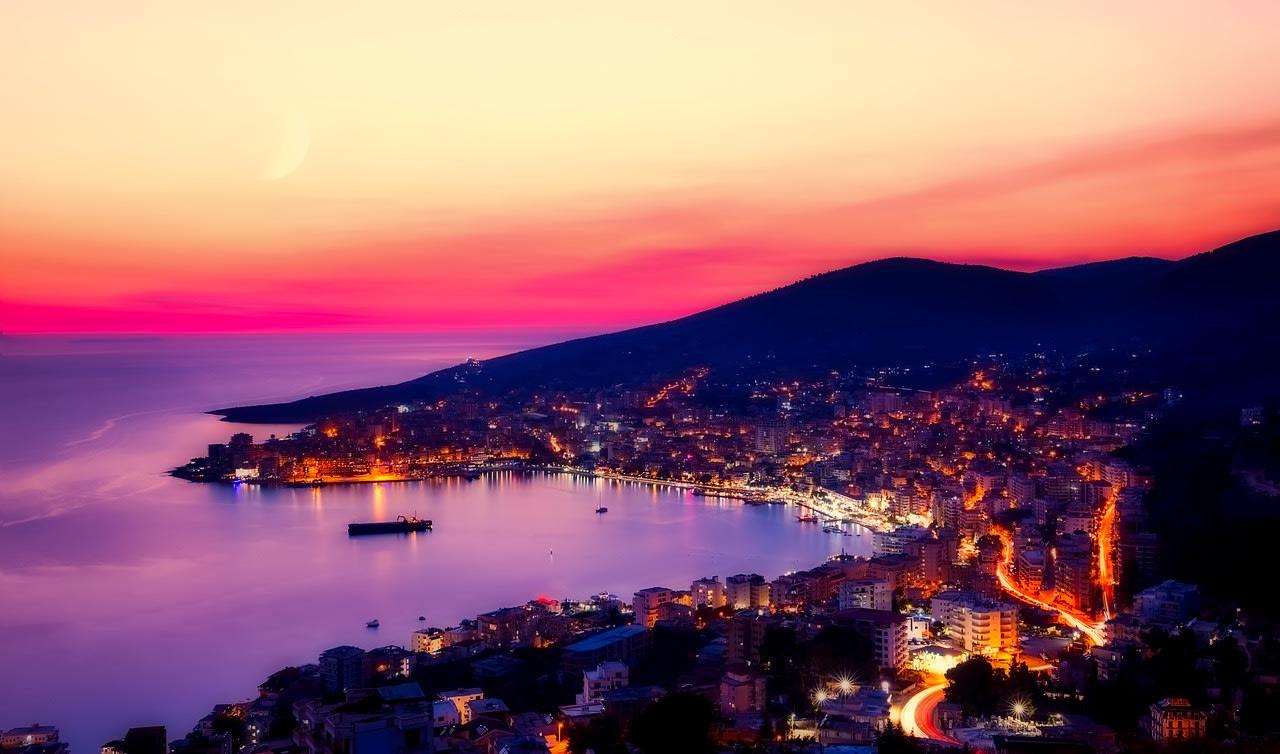 Sarande city, Albania