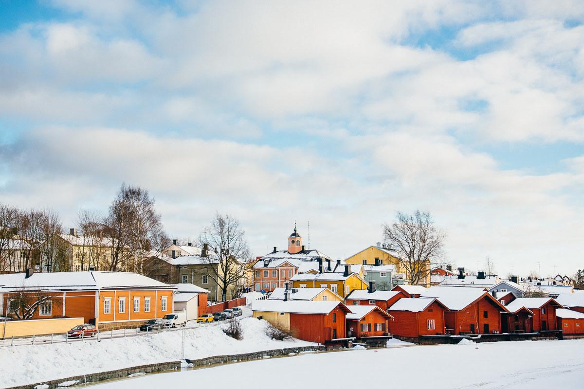 Marvel at Porvoo in winter