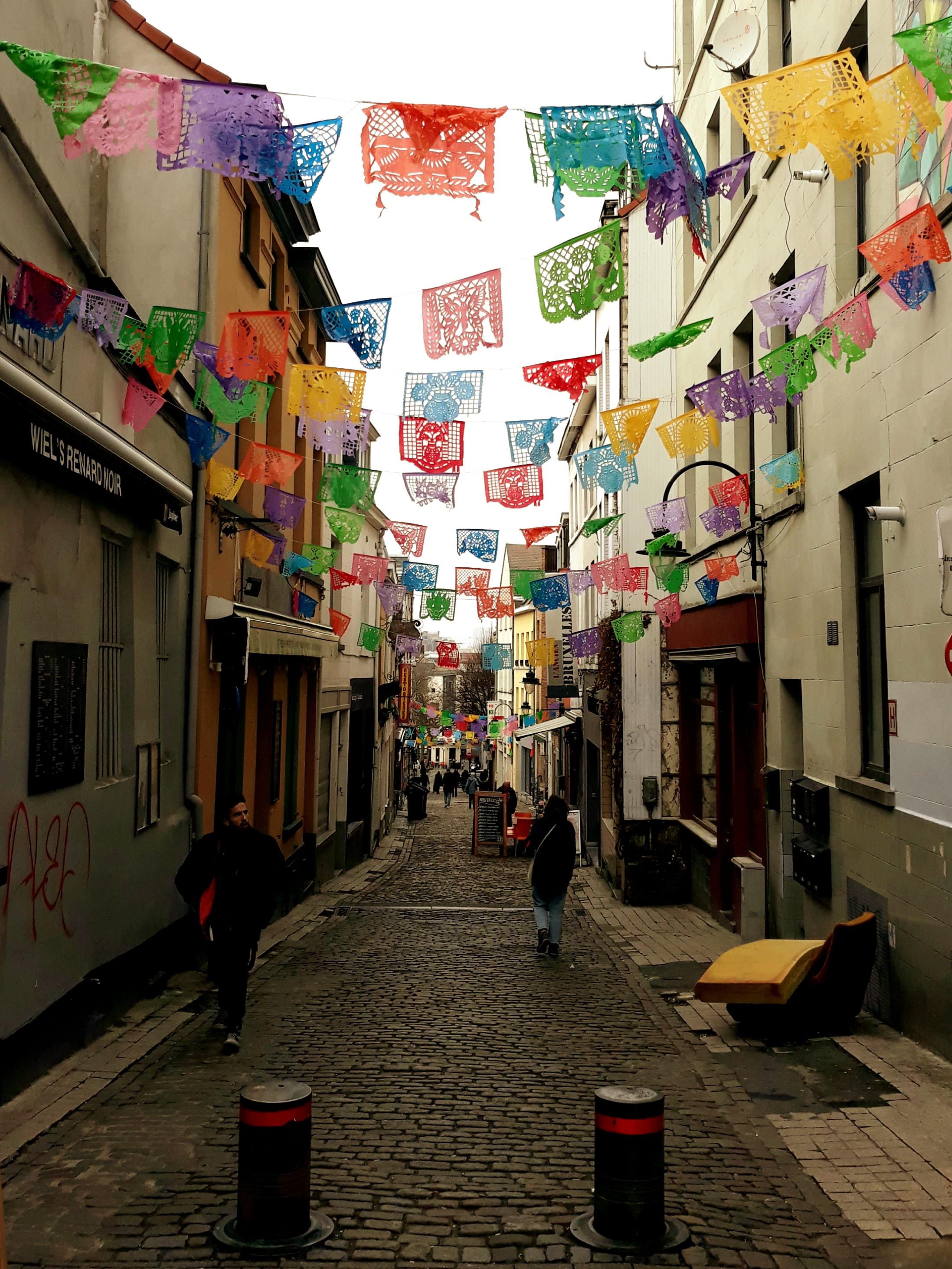 Narrow Lanes of Brussels