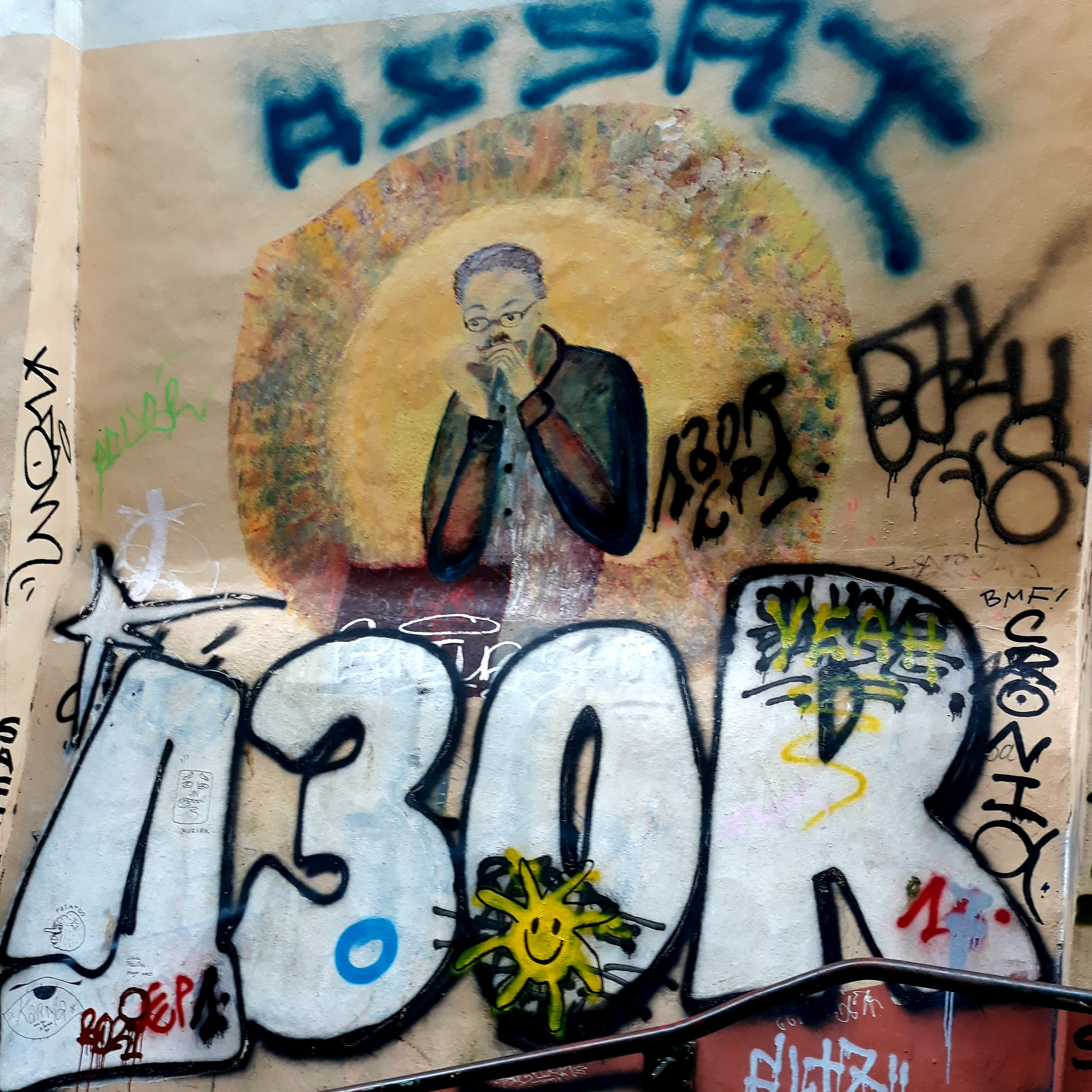Graffiti in Brussels