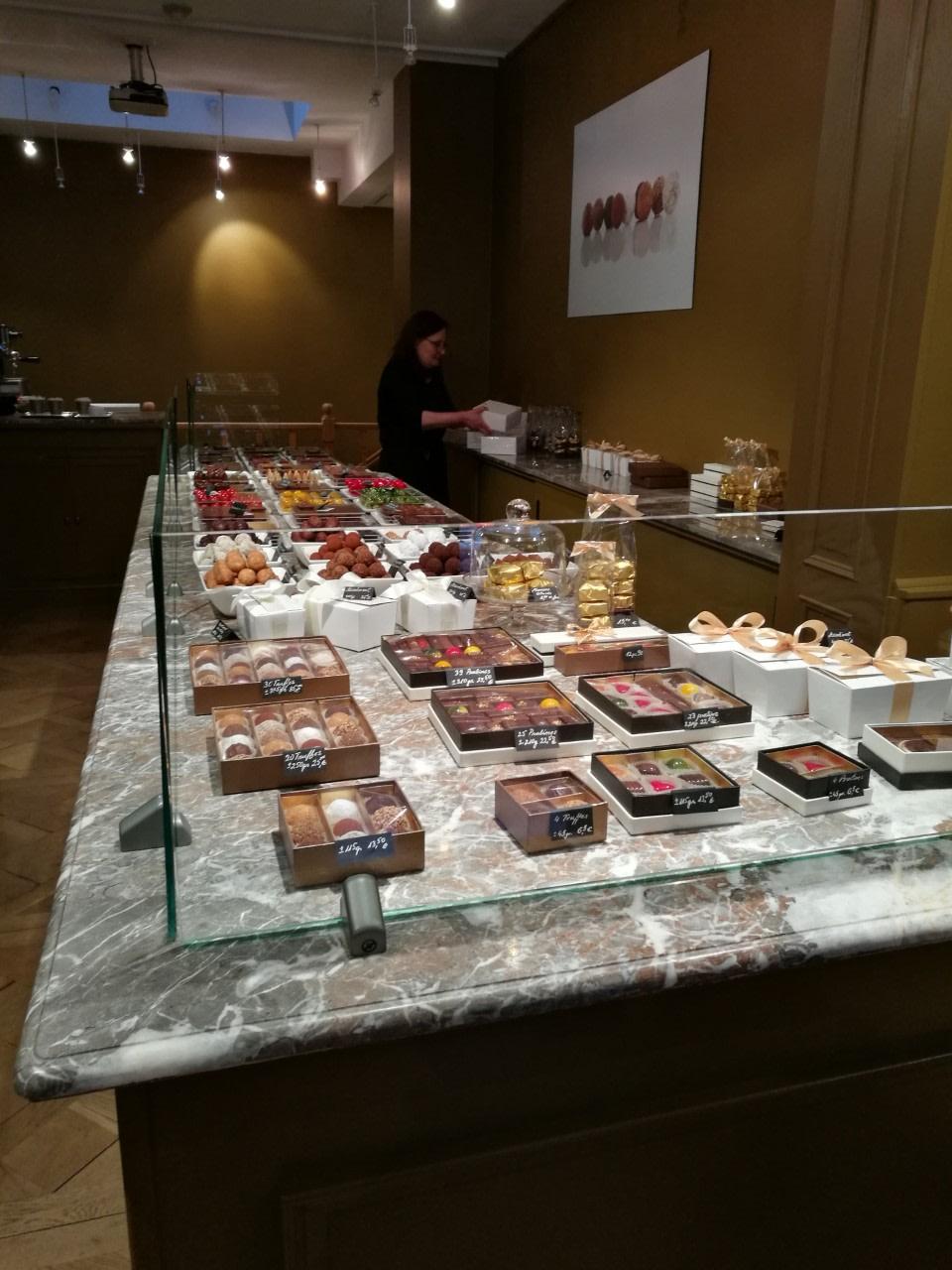 Taste Famous Belgian Chocolates