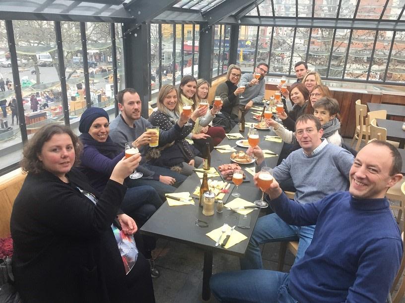 Beer Tasting Session in Brussels