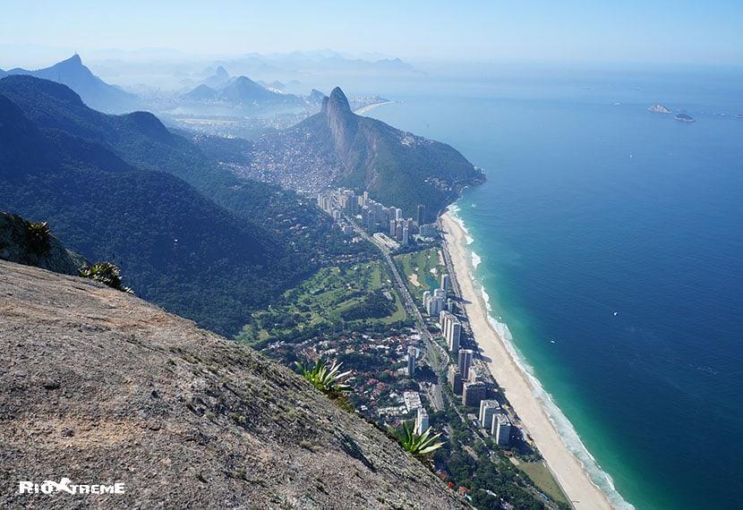 Rio city below