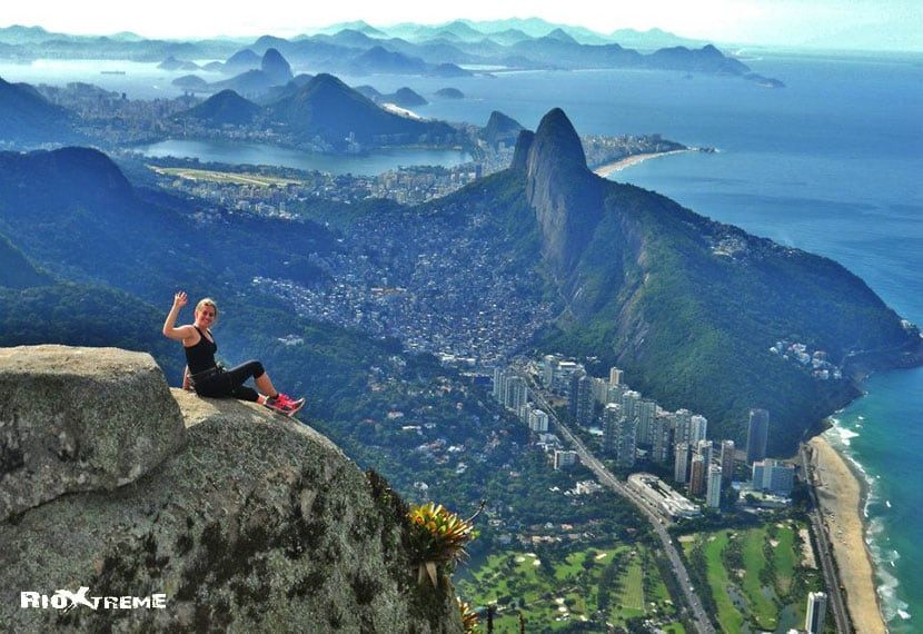 Above the city of Rio