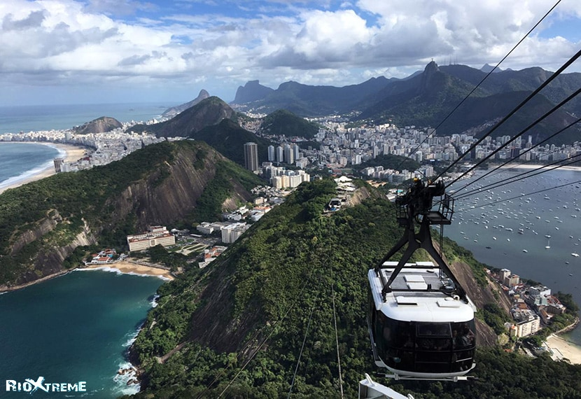 cable car to Sugar Loaf