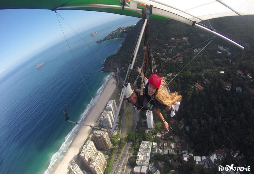 Paragliding tour of Rio
