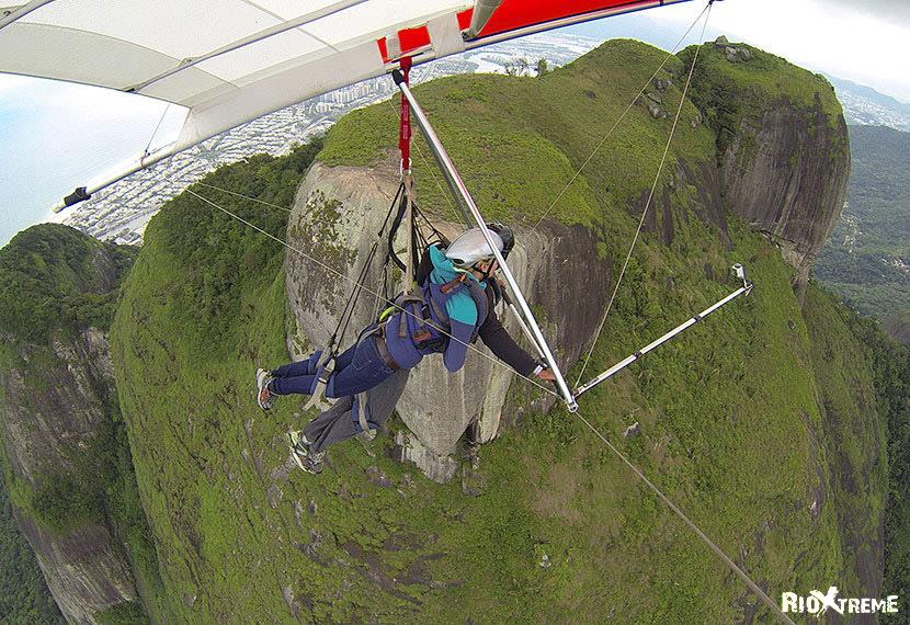 Paragliding over Rio