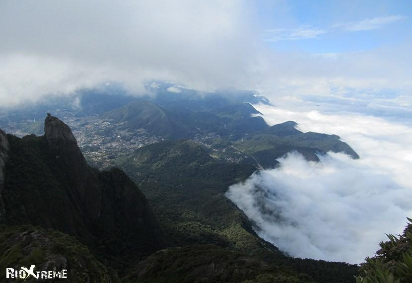 overlooking Rio city