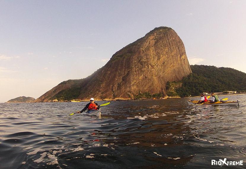 Canoeing tour of Rio