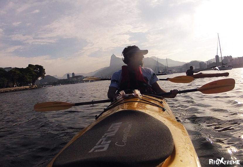 Kayaking tour of Rio