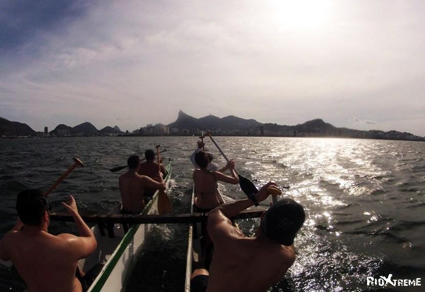 Ocean Canoeing in Rio