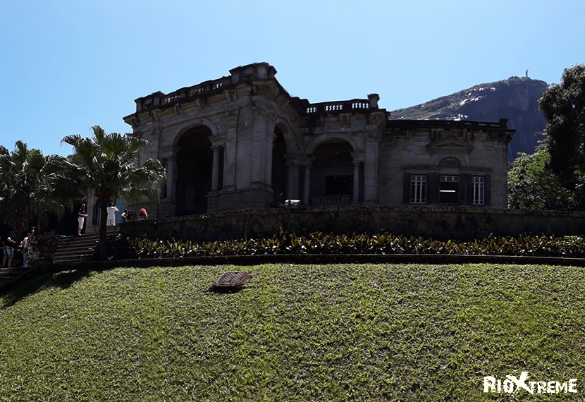 Parque Lage located at foot of the Corcovado