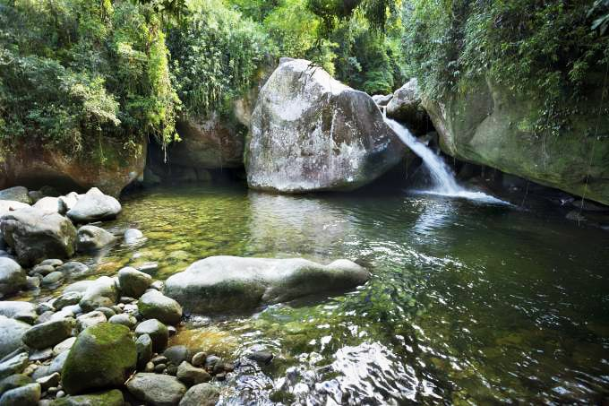 Serene Views over the Waterfalls