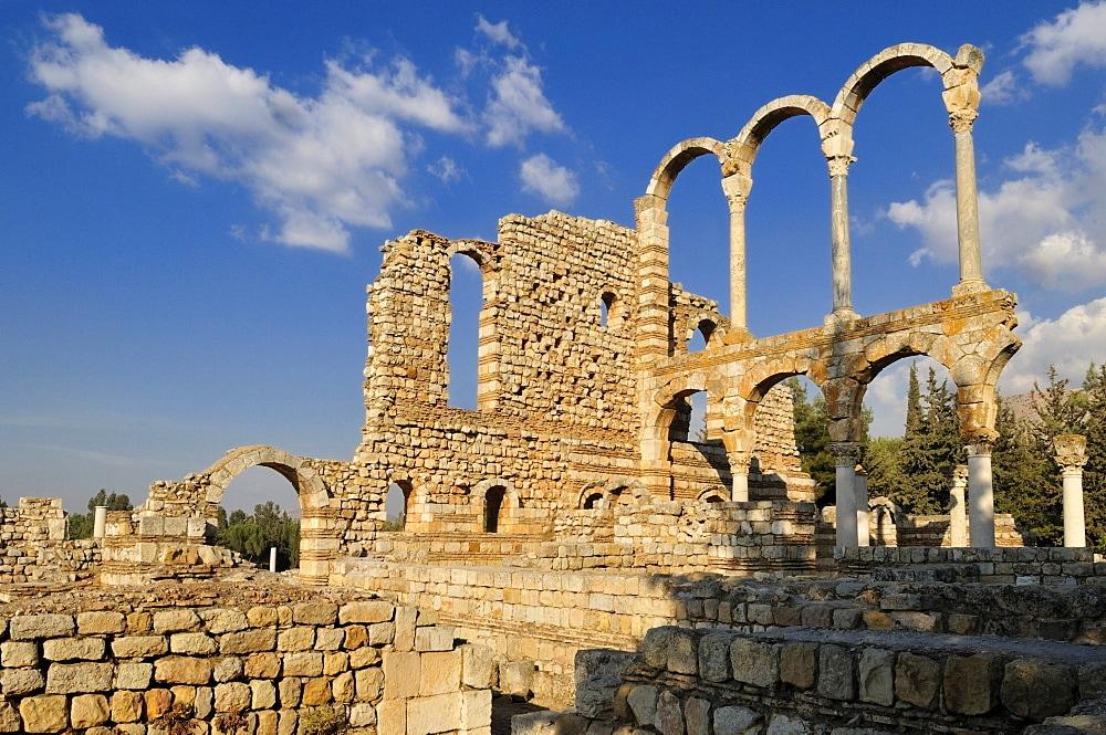 Anjar City ruins