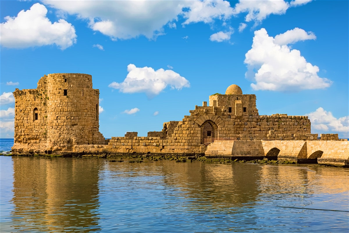 Discover the Sea Crusader Castle of Sidon