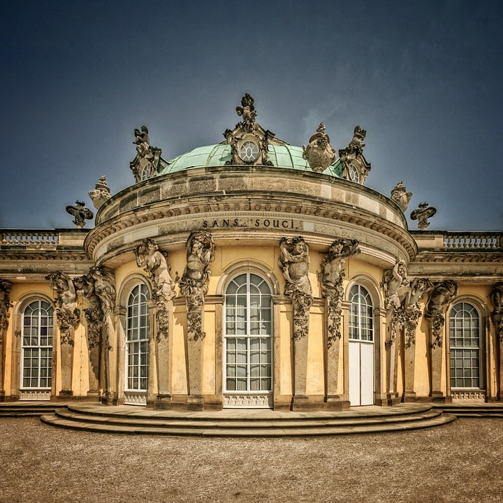 Architectural style of the Sanssouci Palace