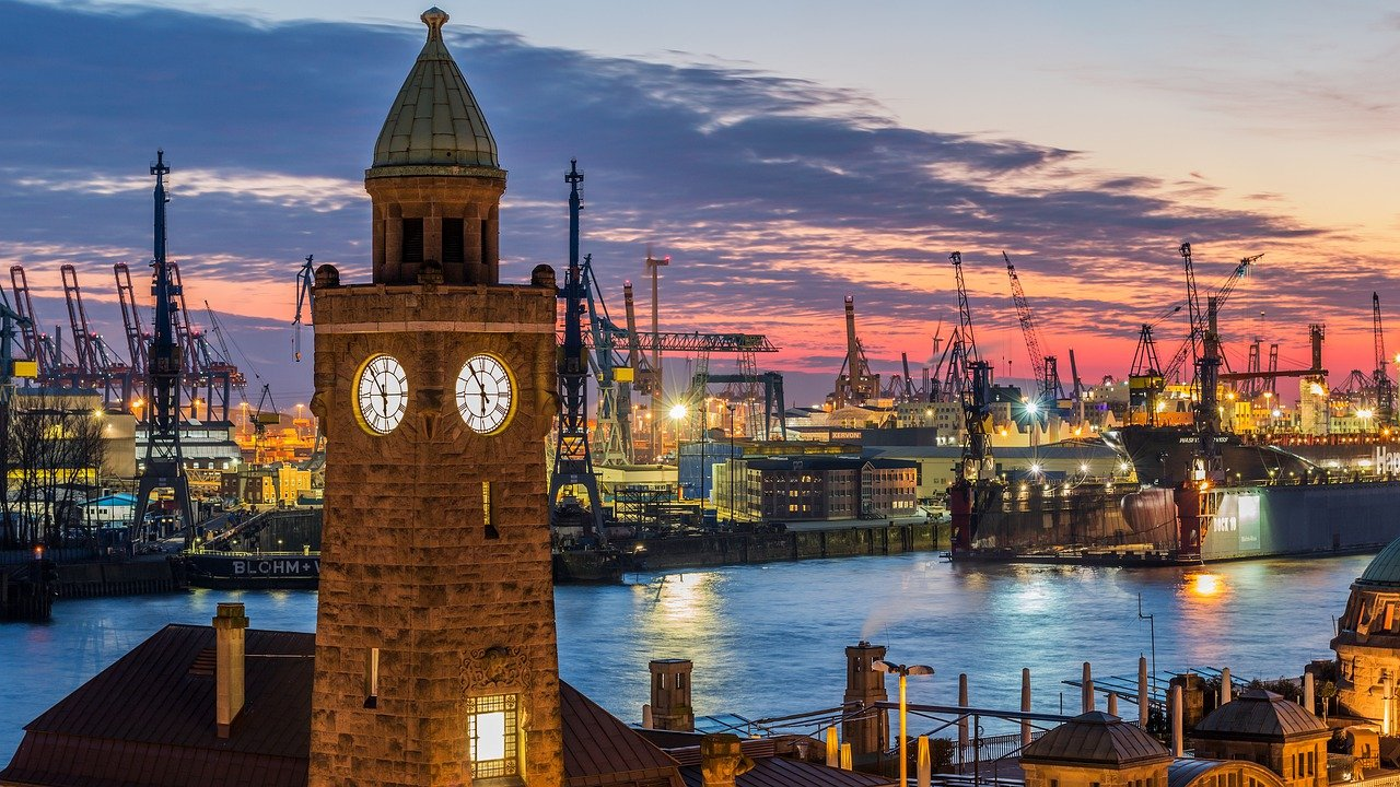 Take in the stunning view of the Port