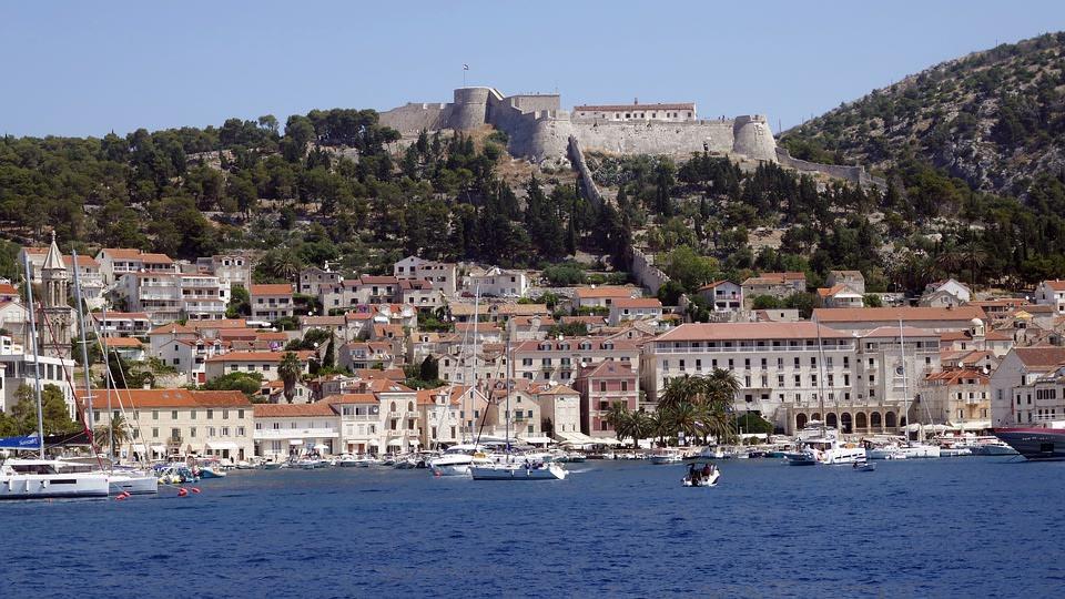 Hvar city and Fortress - Citadel