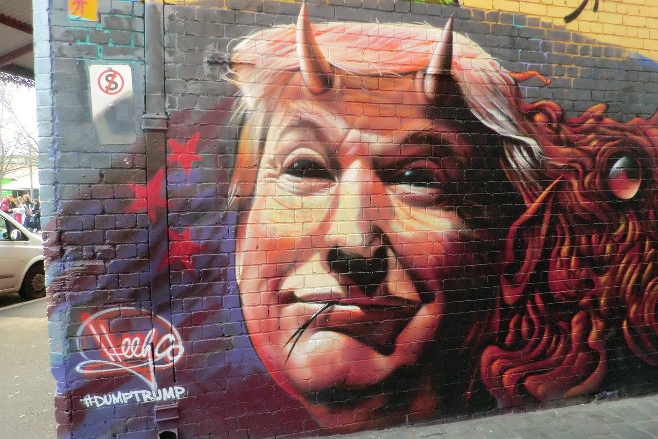Look at the unique street art