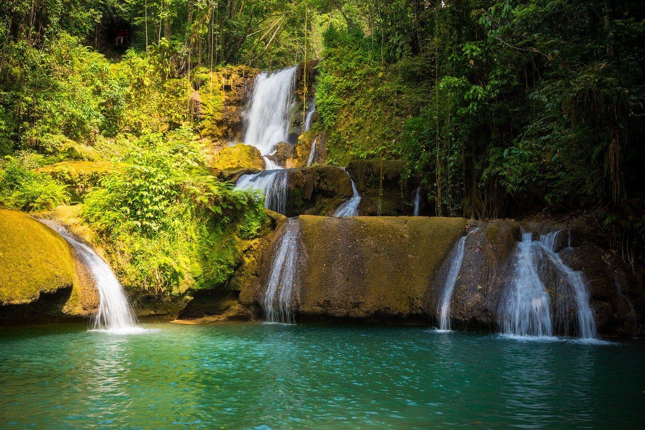 Take in the scenic falls
