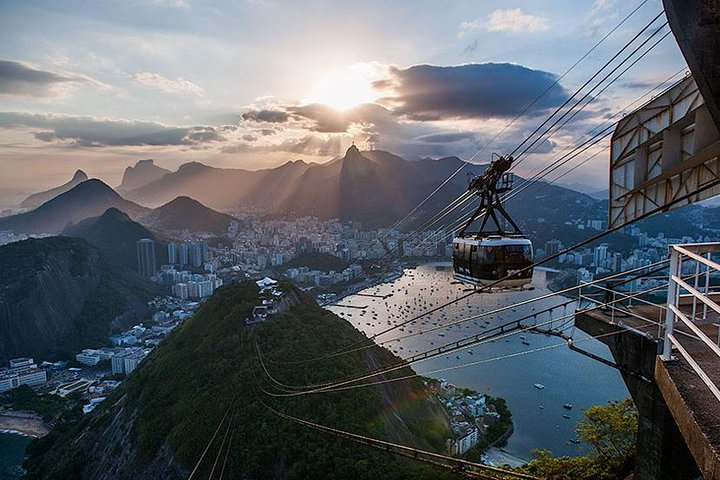Enjoy the cable car ride