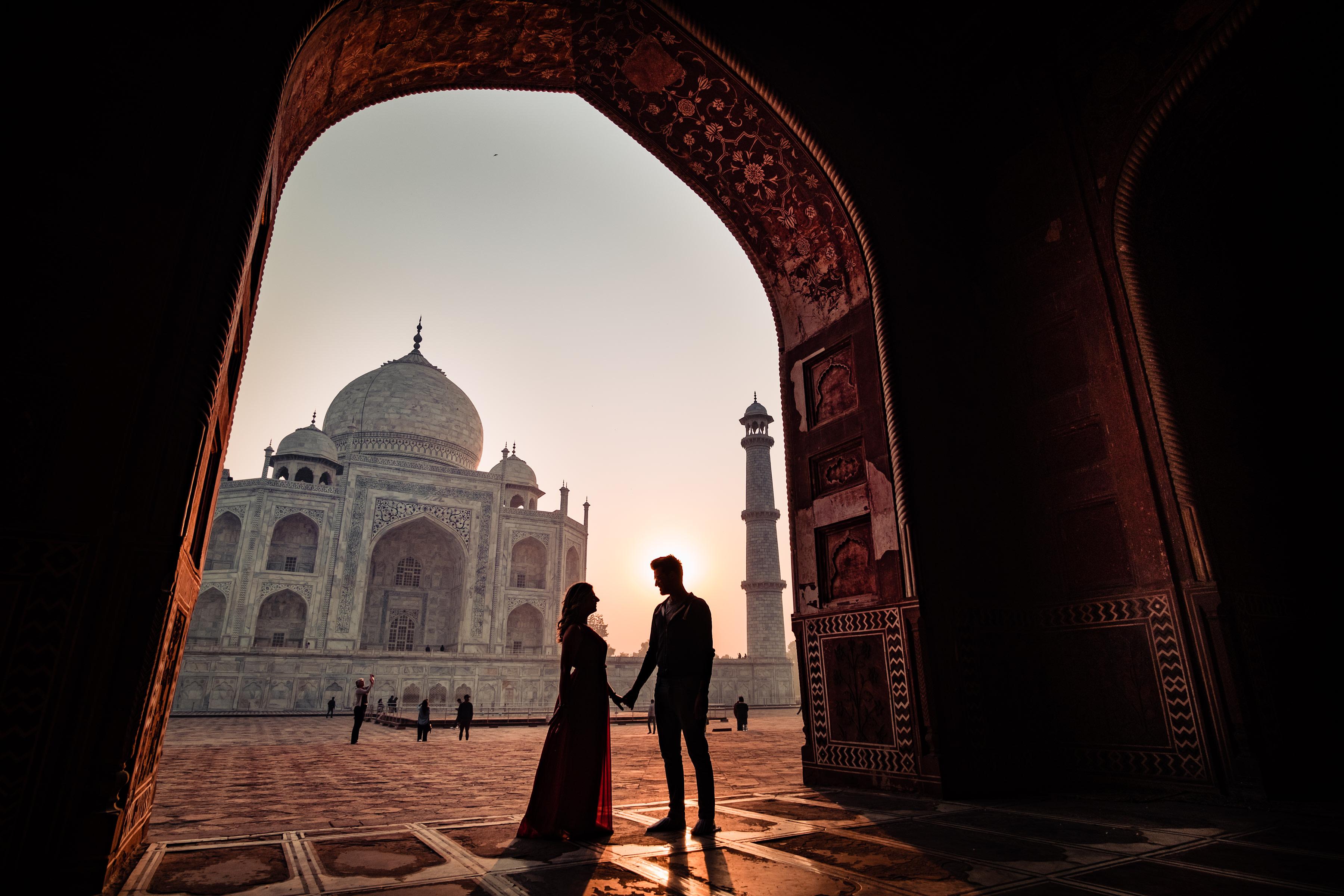 The Majestic Taj Mahal