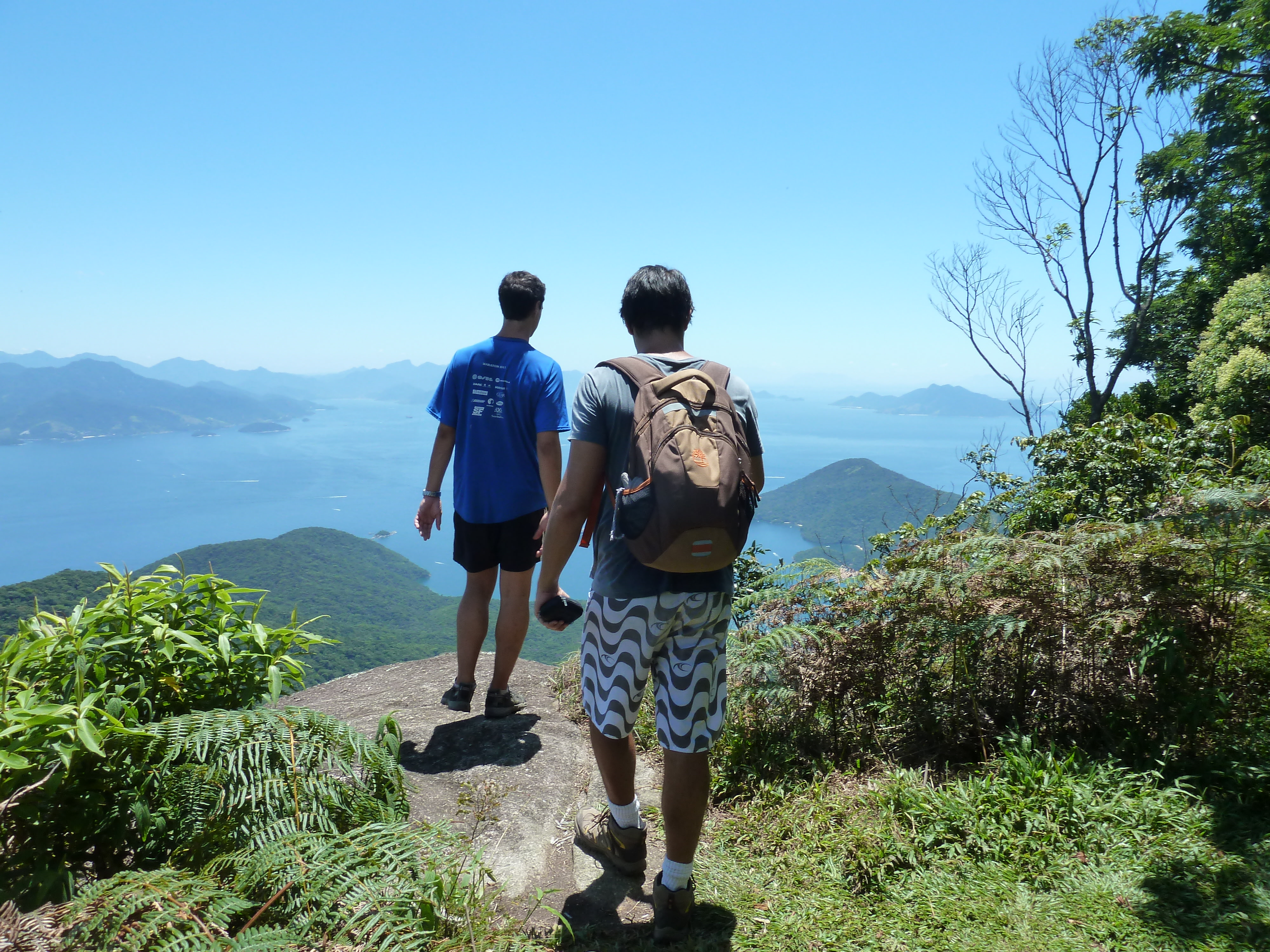 Hike the Ilha Grande with your friends and partner