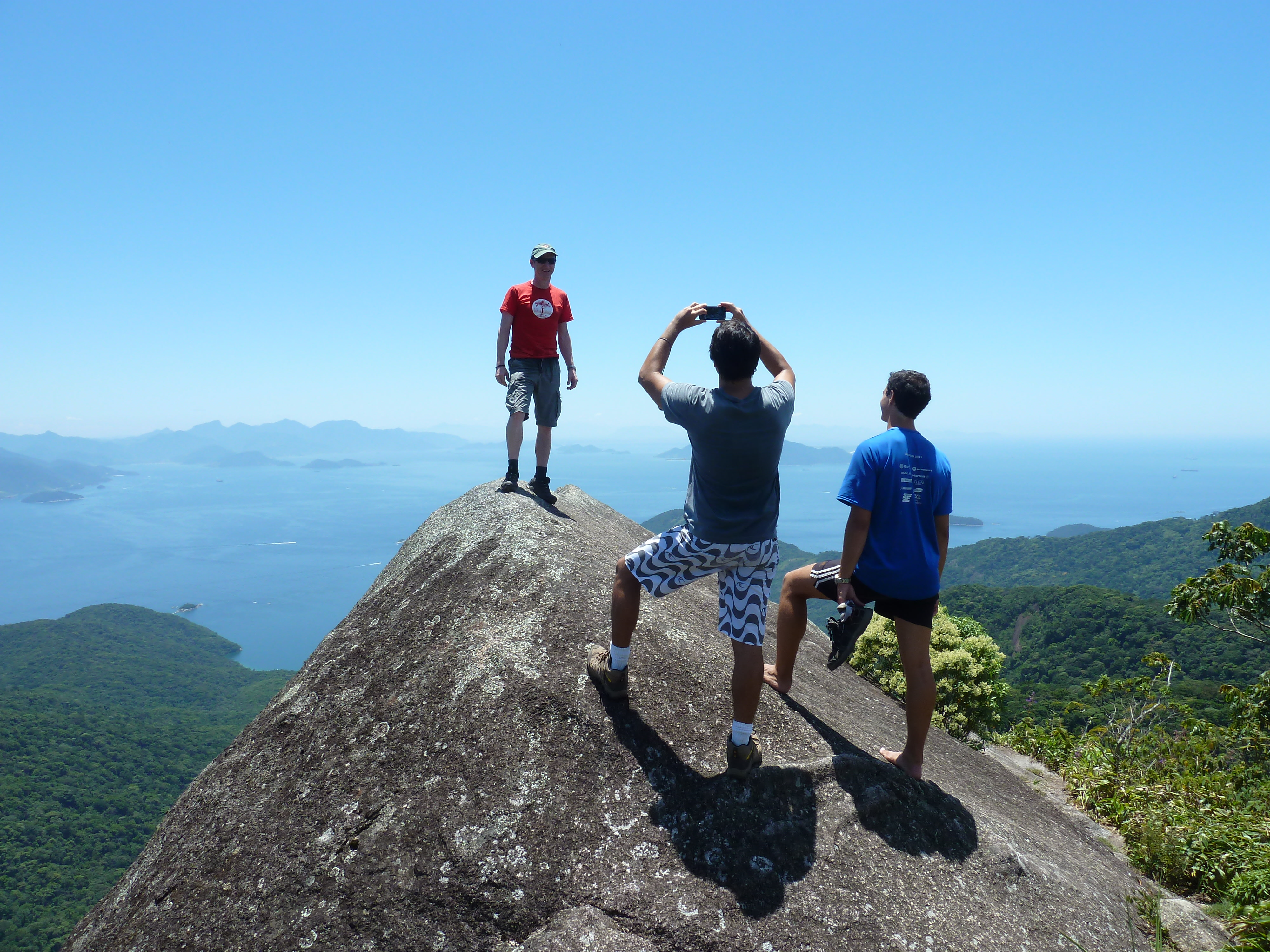 Hike in Ilha Grande