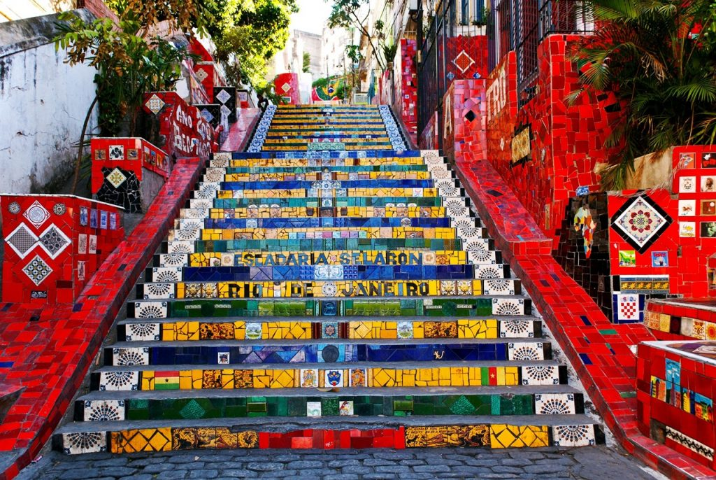 Colourful RIo Steps