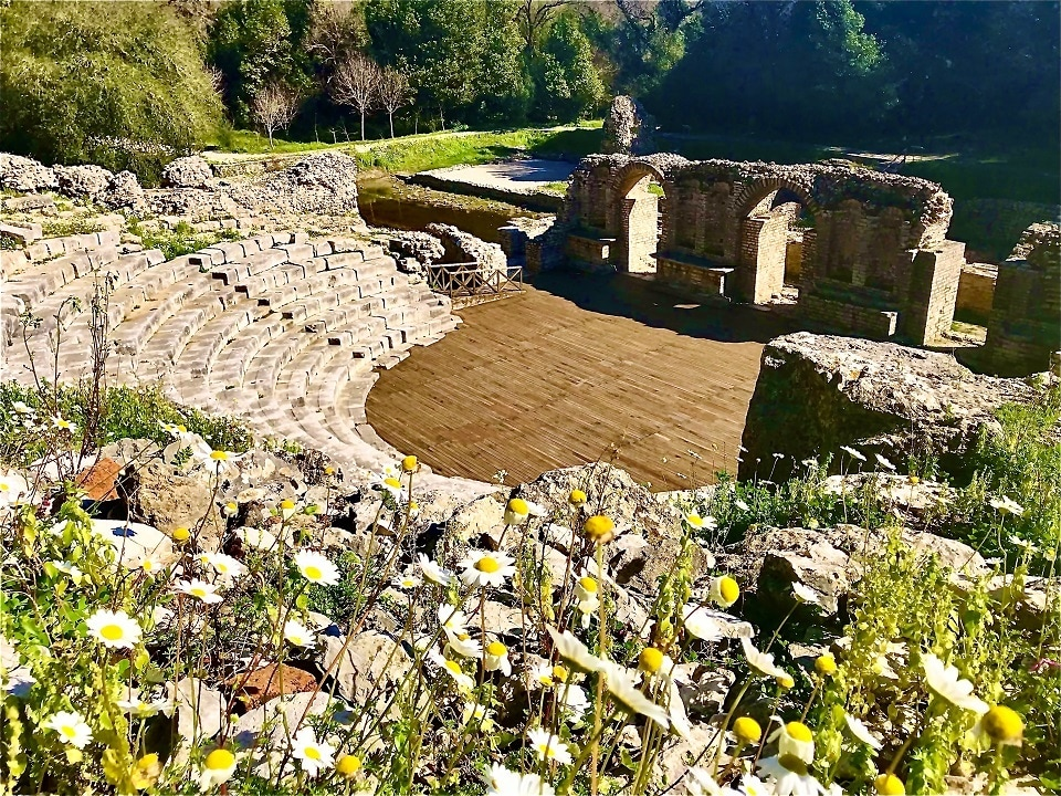 Remains in Butrint National Park