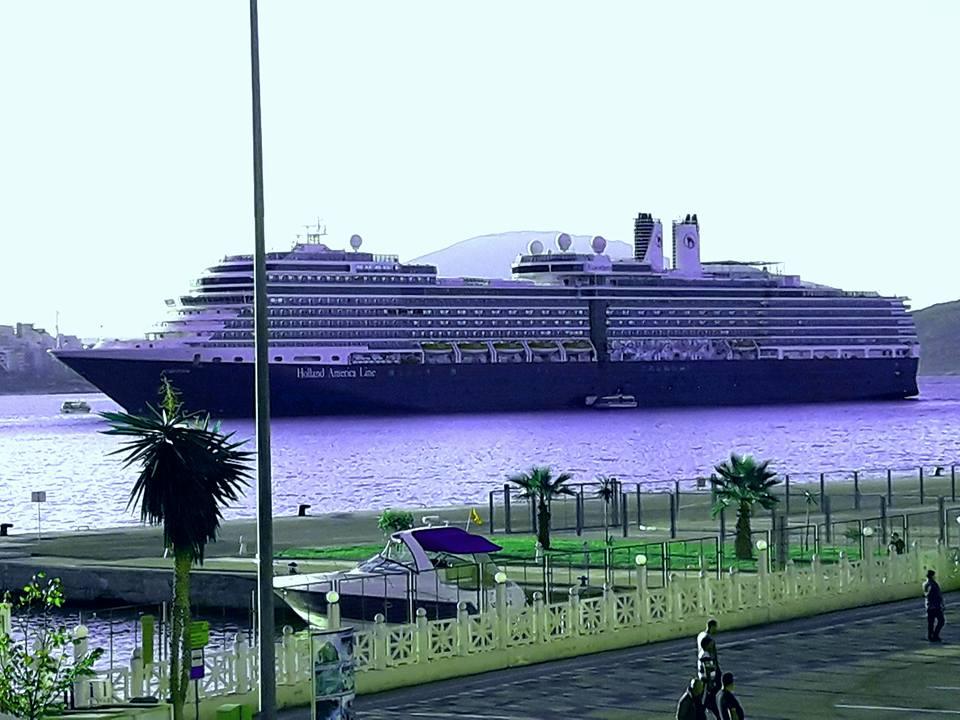 Cruise Ships in Sarande