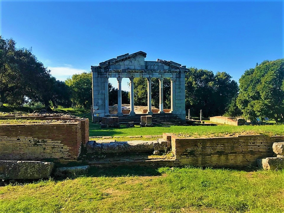 Remains in Apollonia