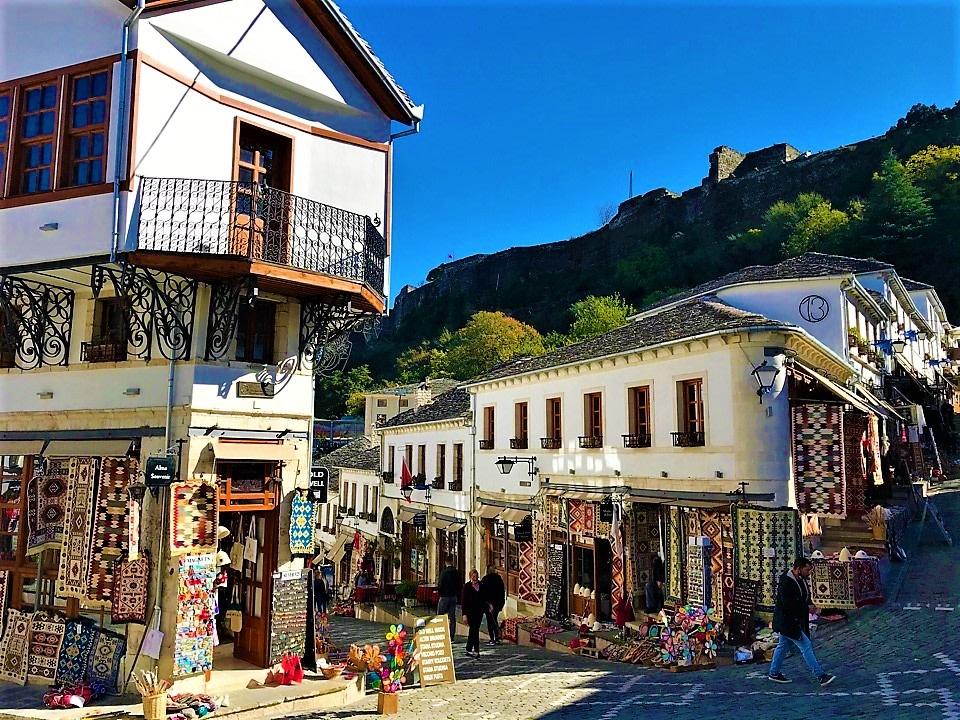 Gjirokastra Old Bazaar