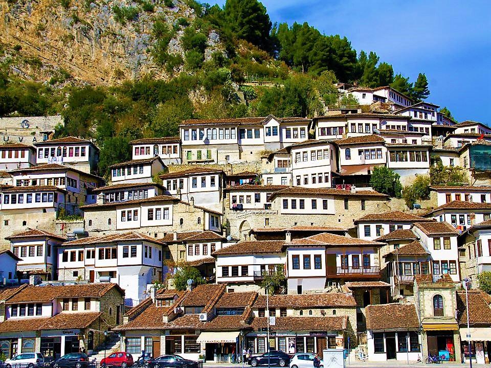 Berat Old Town