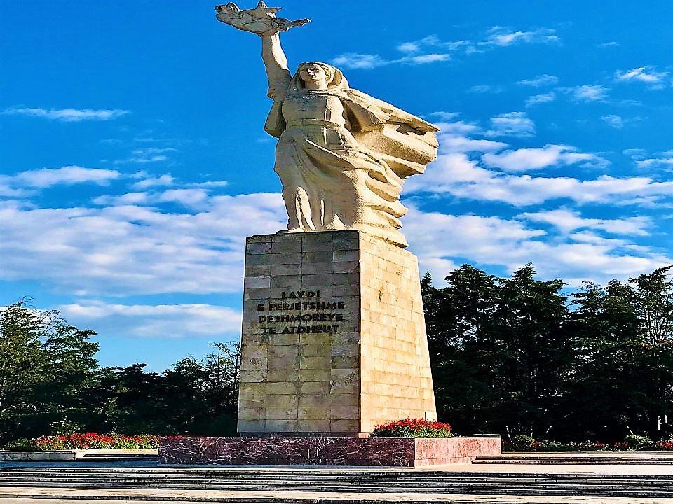 Mother Albania Monument