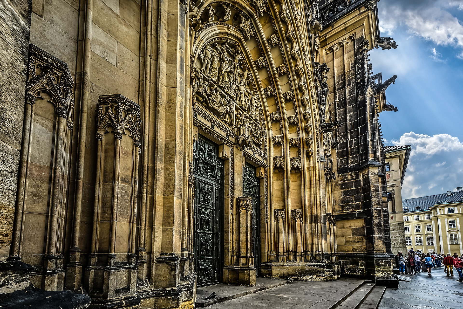Magnificent Architecture on the St. Vitus Cathedral