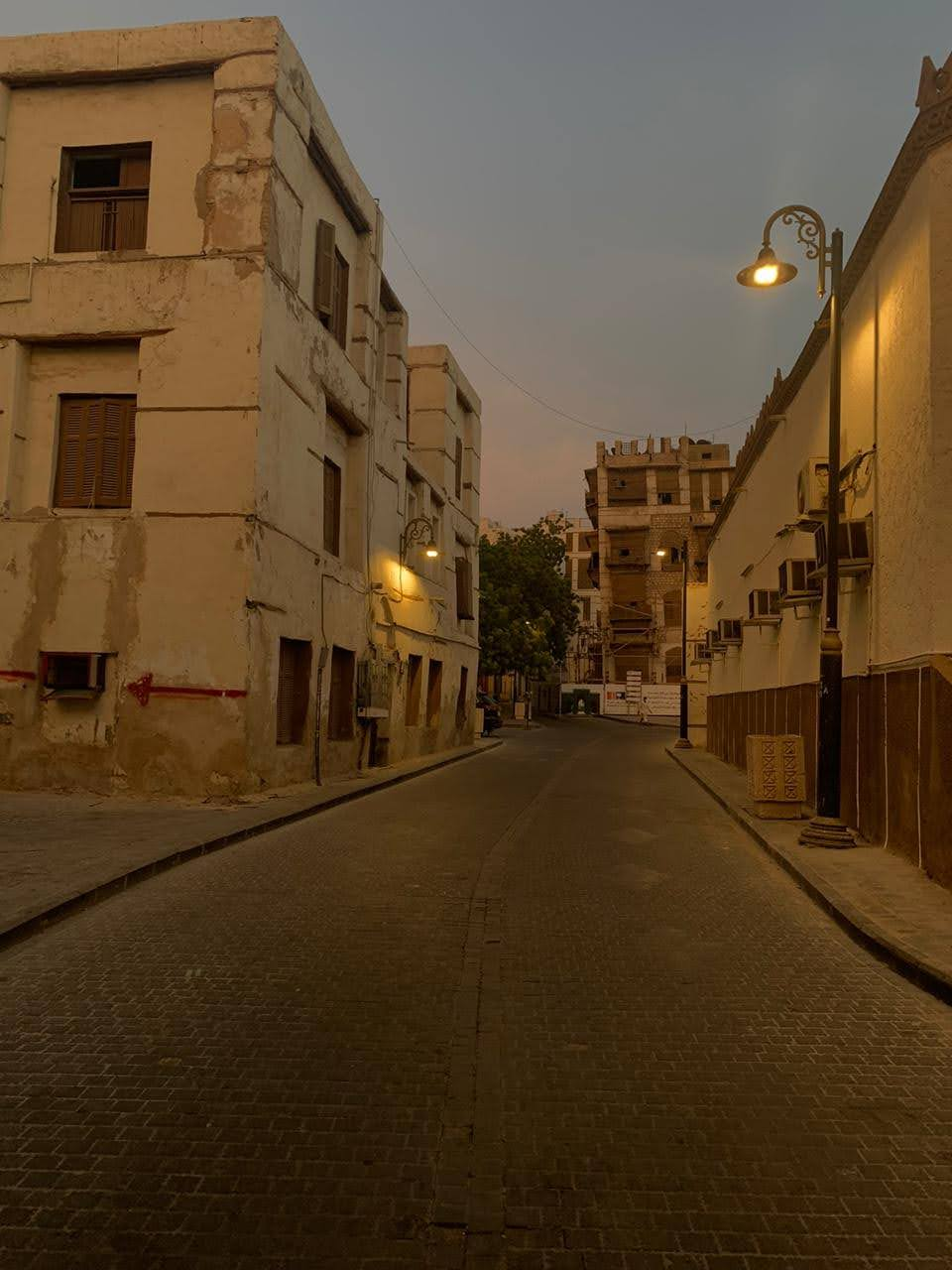 Jeddah in the evening