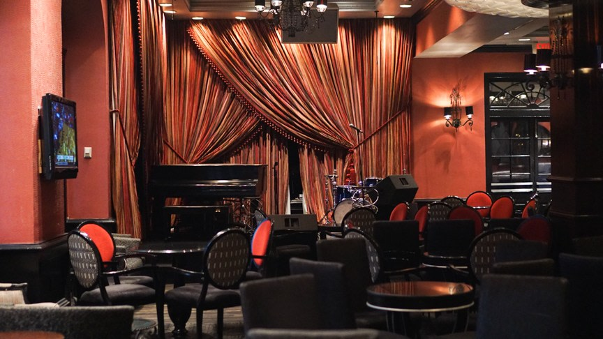 Upscale Jazz Club in New Orleans