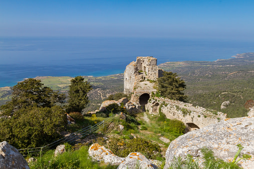 Kantara Castle In Cyprus