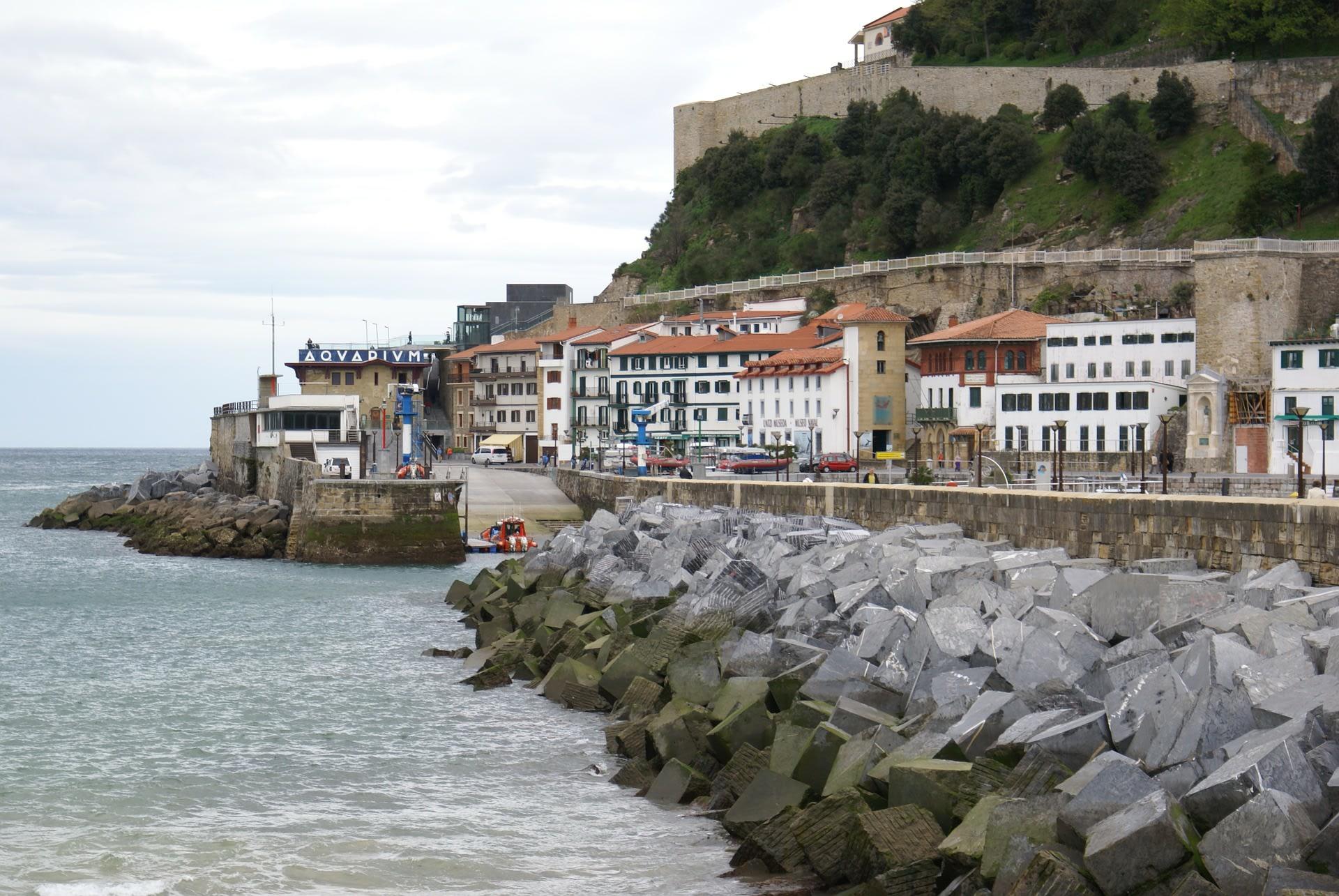San Sebastian Port Area
