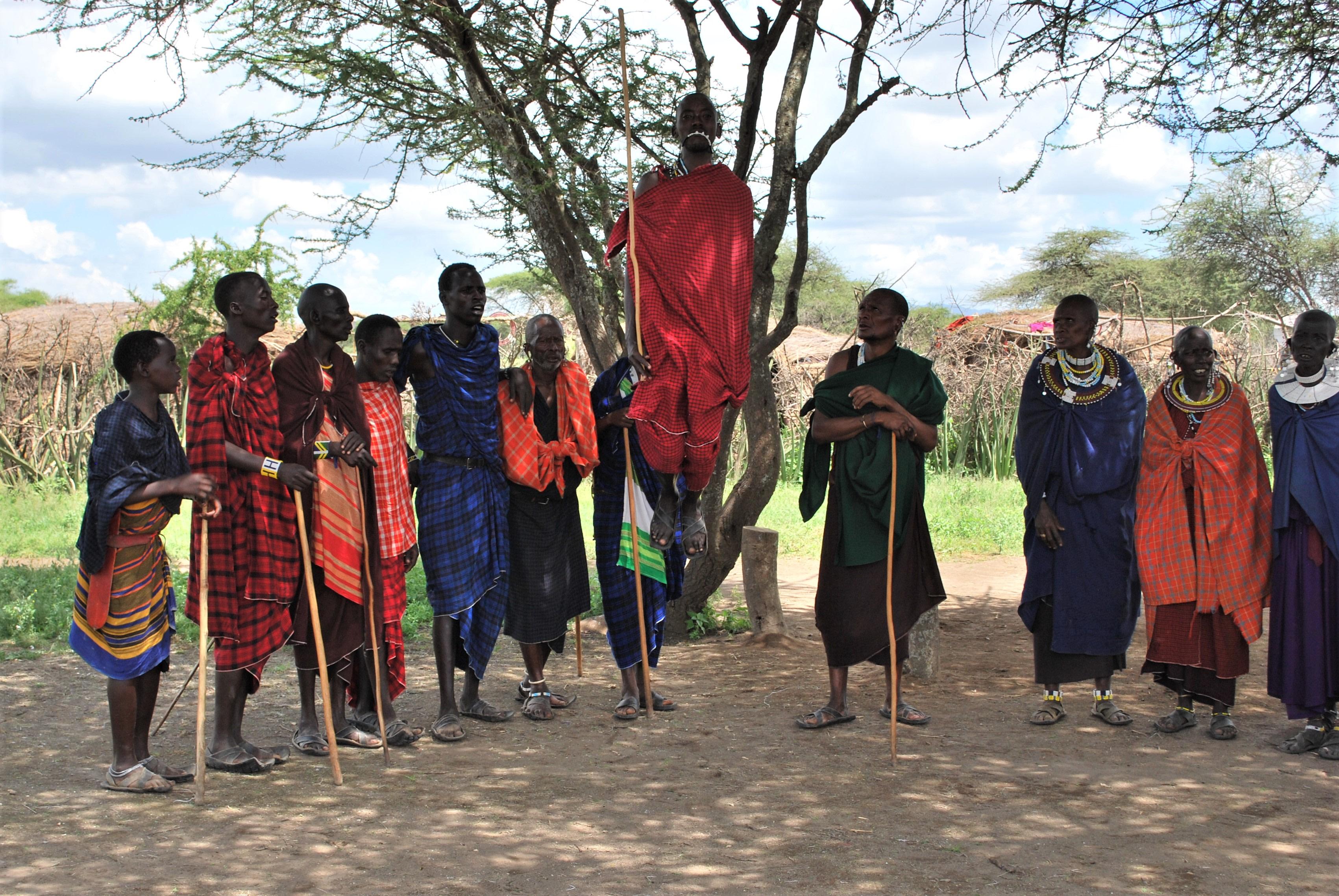 Masai Mara Local Tribe