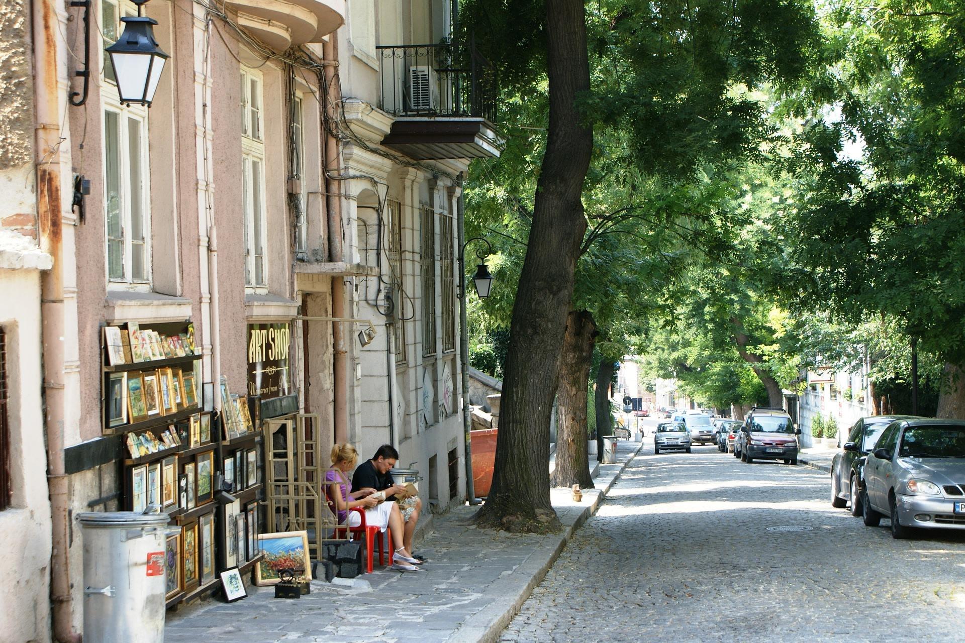 Plovdiv Local Street